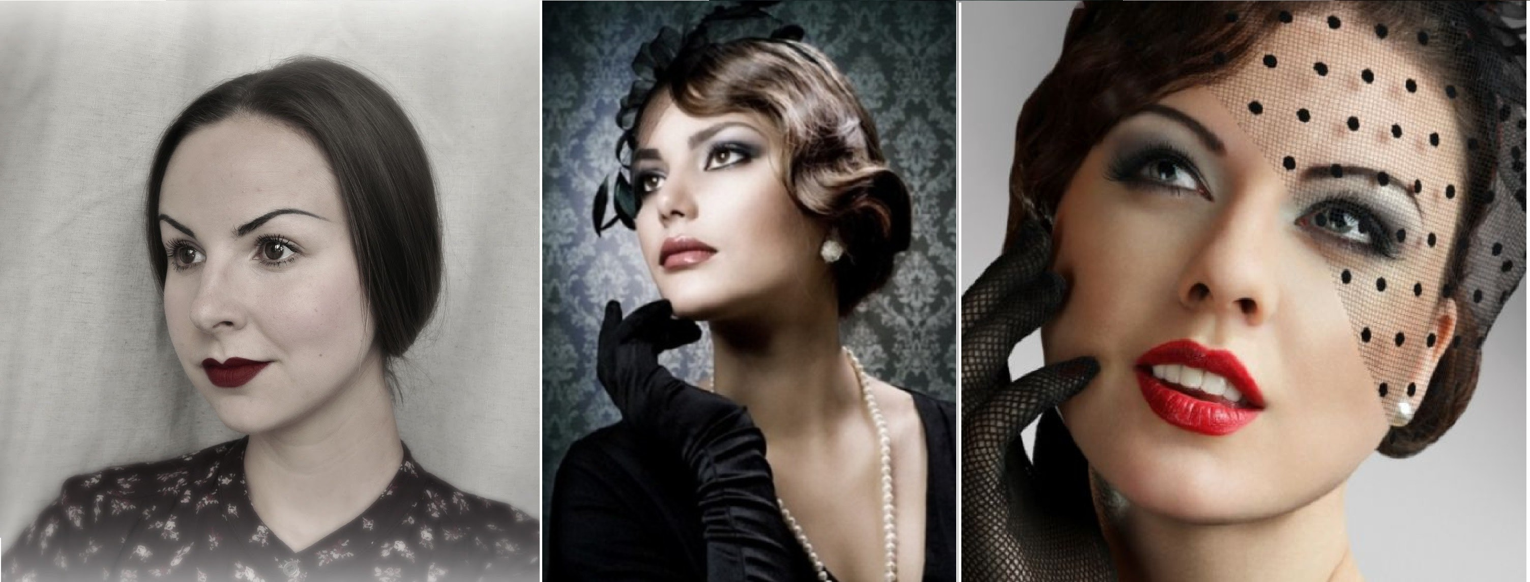 Фото прически и макияж 30 годов