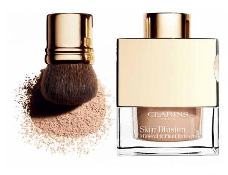 Минеральная рассыпчатая пудра Skin illusion от Clarins