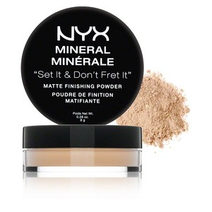 Минеральная пудра Mineral Matte Finishing Powder от NYX