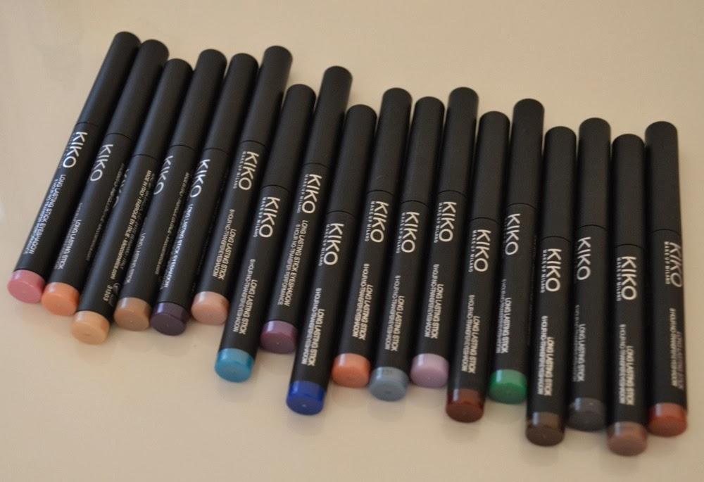 Тени-карандаш Long Lasting Stick Eyeshadow от Kiko Milano