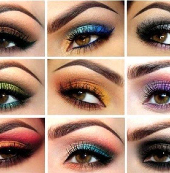 Макияж для разных оттенков карих глаз с фото и видео инструкциями