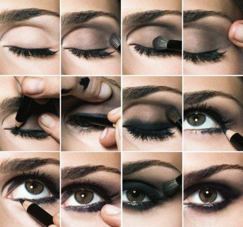 Карие глаза: инструкция по созданию вечернего макияжа