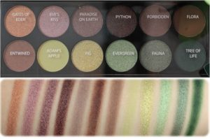 Палетка Garden Of Eden от Sleek MakeUp