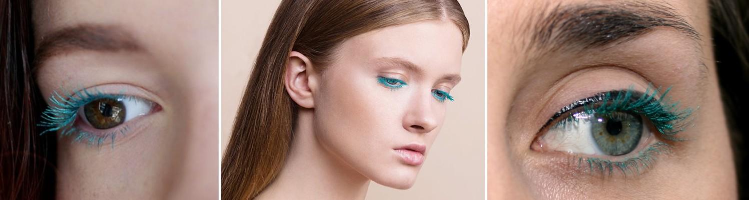 Свотч туши для ресниц цвет 500 - Vamp! Emerald Green