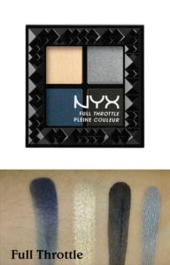 Палетка Full Throttle Shadow Palette 03 Full Throttle от NYX