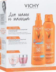 Солнцезащитная косметика от Vichy