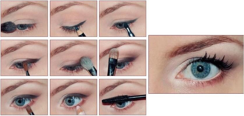 Картинки по запросу макияж для нависшего века
