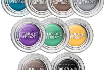 Обзор теней для век EyeStudio Color Tattoo от Maybelline New York