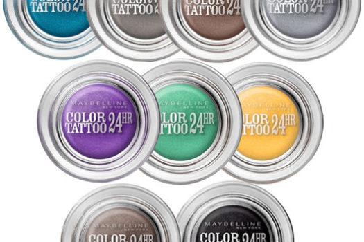 Обзор теней для век EyeStudio Color Tattoo от Maybelline New York