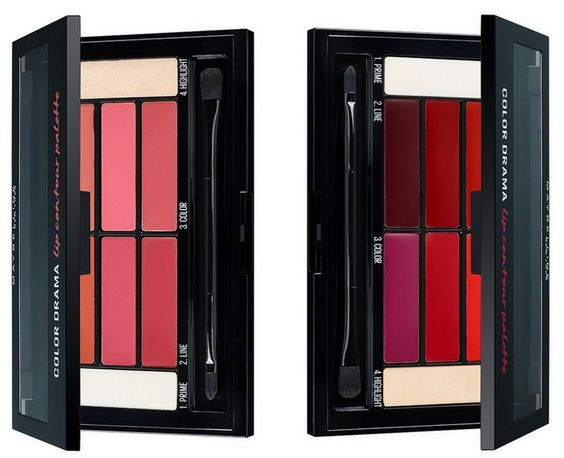 Color Drama Lip Contour Palette от Maybelline