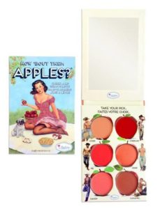 Палетка How 'Bout Them Apples? Lip and Cheek Cream Palette от theBalm