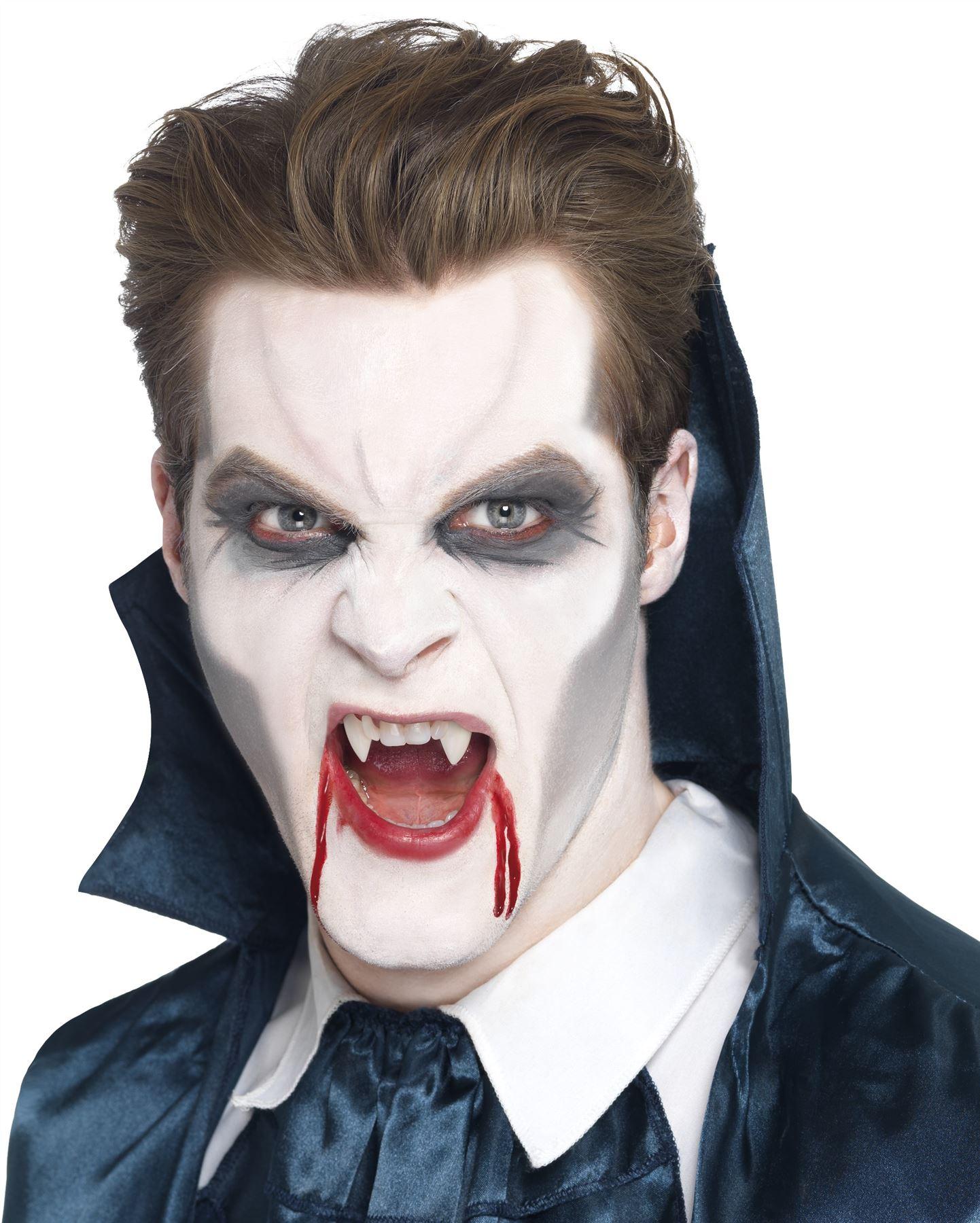 Как сделать грим вампира 950