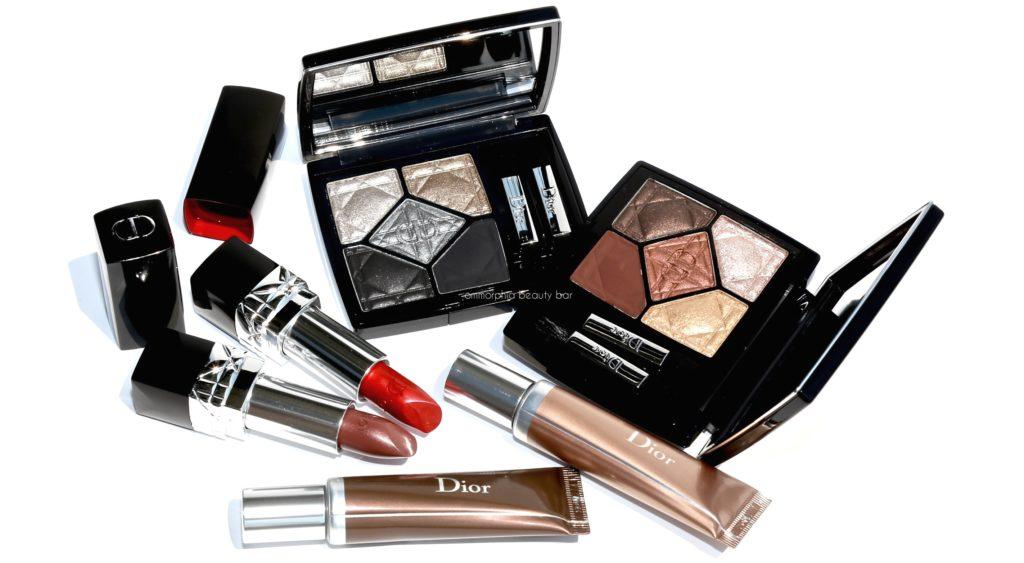 Осенняя коллекция макияжа Metallics Makeup Collection Fall 2017 от Dior