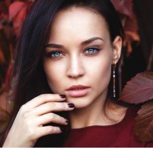 Осенний макияж для брюнеток