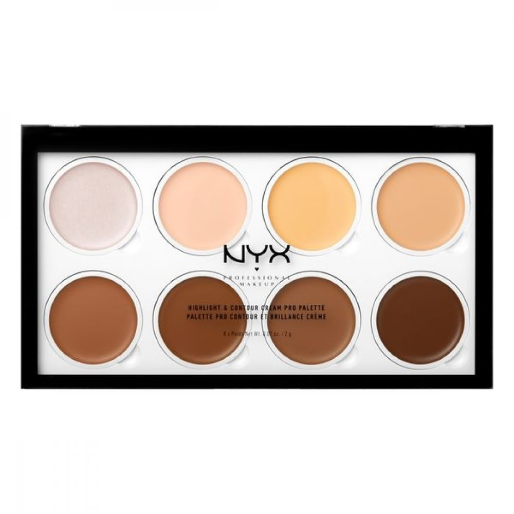 Highlight and Contour Cream Pro Palette от NYX