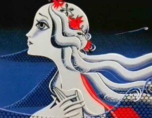 Макияж русалки в мультфильме «Русалочка» (1968 год)