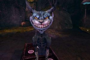 Чеширский кот из компьютерной игры «American McGee's Alice»
