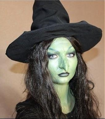 Как сделать нос ведьмы своими руками 91