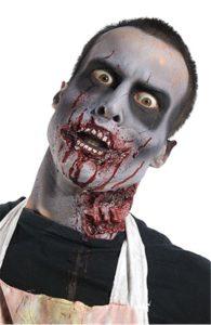 Простой макияж зомби