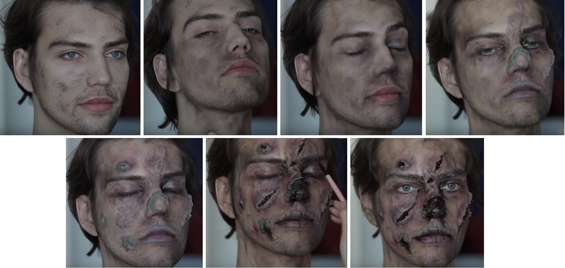 Как сделать макияж зомби фото 96