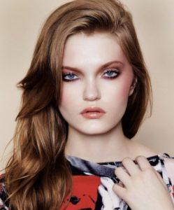 Освежающий макияж в технике дрейпинг