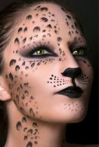 Макияж гепарда