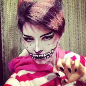 Образ Чеширского кота на Хэллоуин
