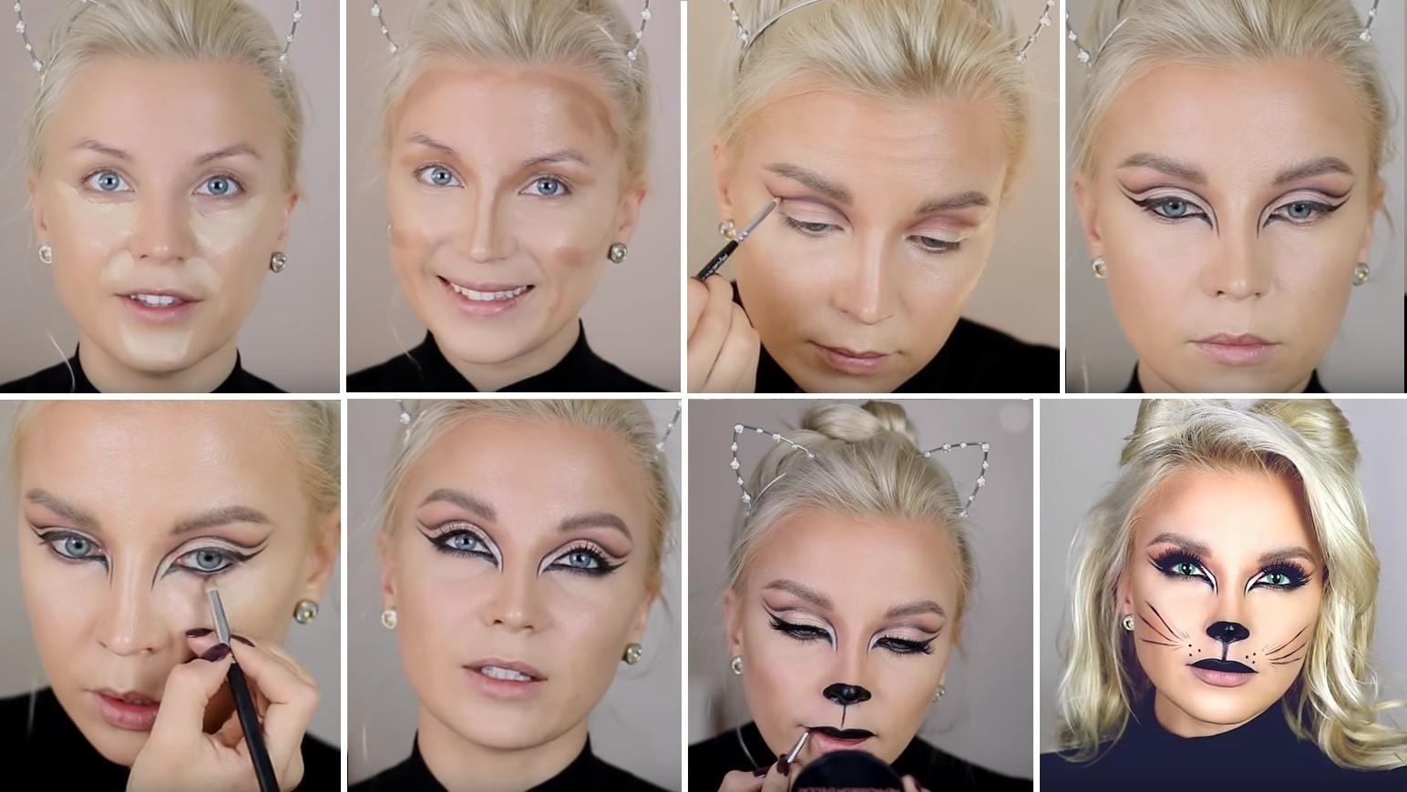 Как сделать макияж на праздник фото 904