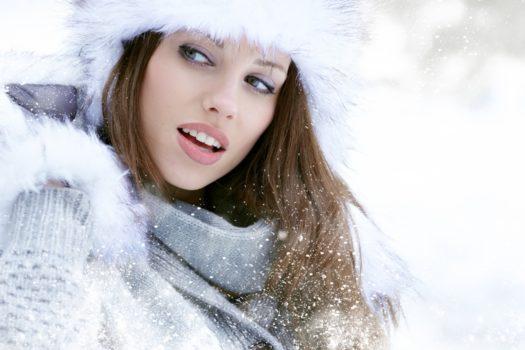 Как создать красивый зимний макияж