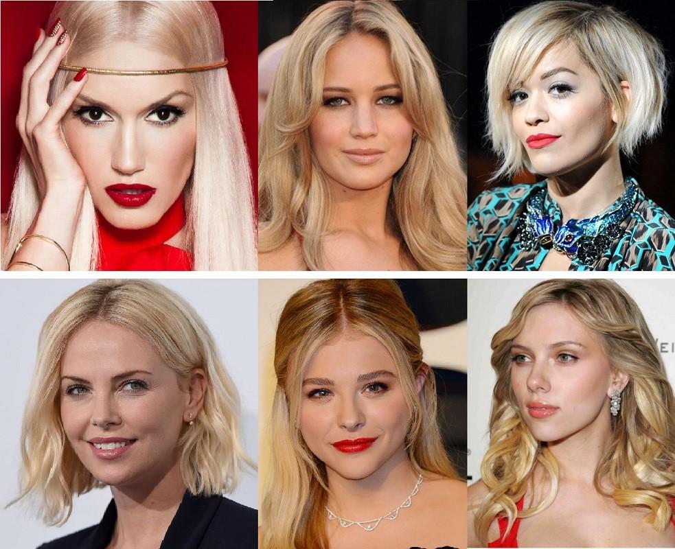 Нежные цвета для блондинок