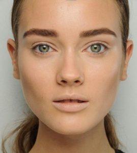 Естественный зимний макияж
