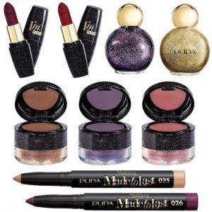 Зимняя коллекция макияжа Pupa Light Up The Night Makeup Collection Holiday 2017