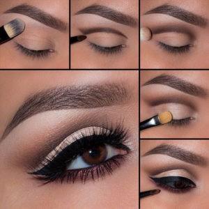 Пошаговый урок по созданию макияжа глаз в технике cut crease