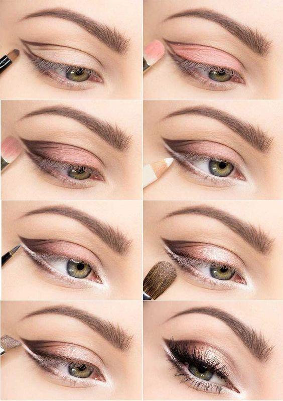 Пошаговая инструкция по макияжу cut crease