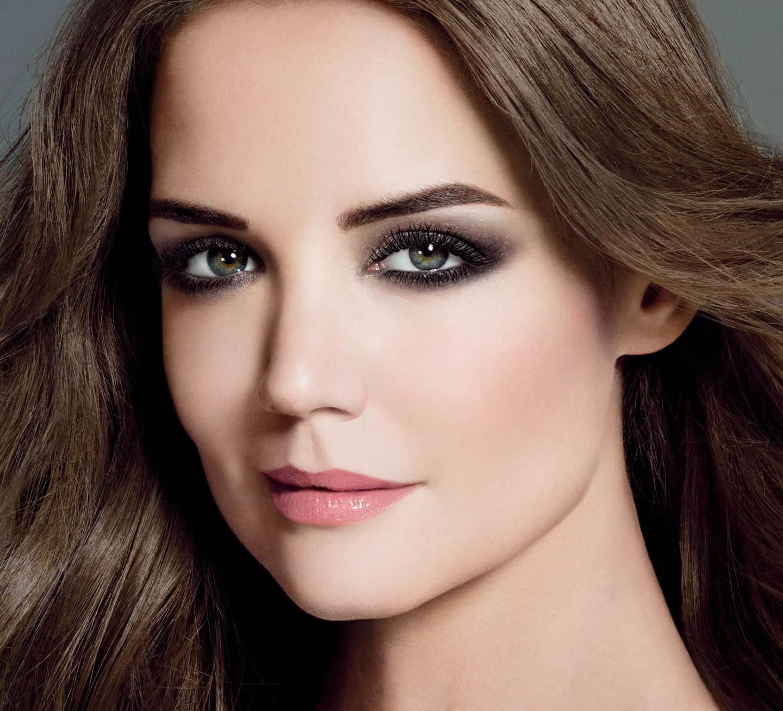 Вечерний макияж на Кэти Холмс