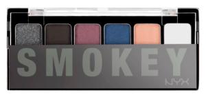 Палетка теней The Smokey Fume Shadow Palette от NYX Professional Makeup для смоки айс