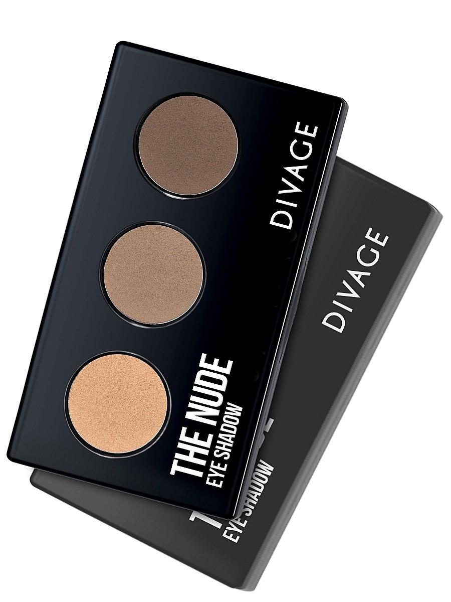 Палетки для макияжа нюд The Nude от Divage