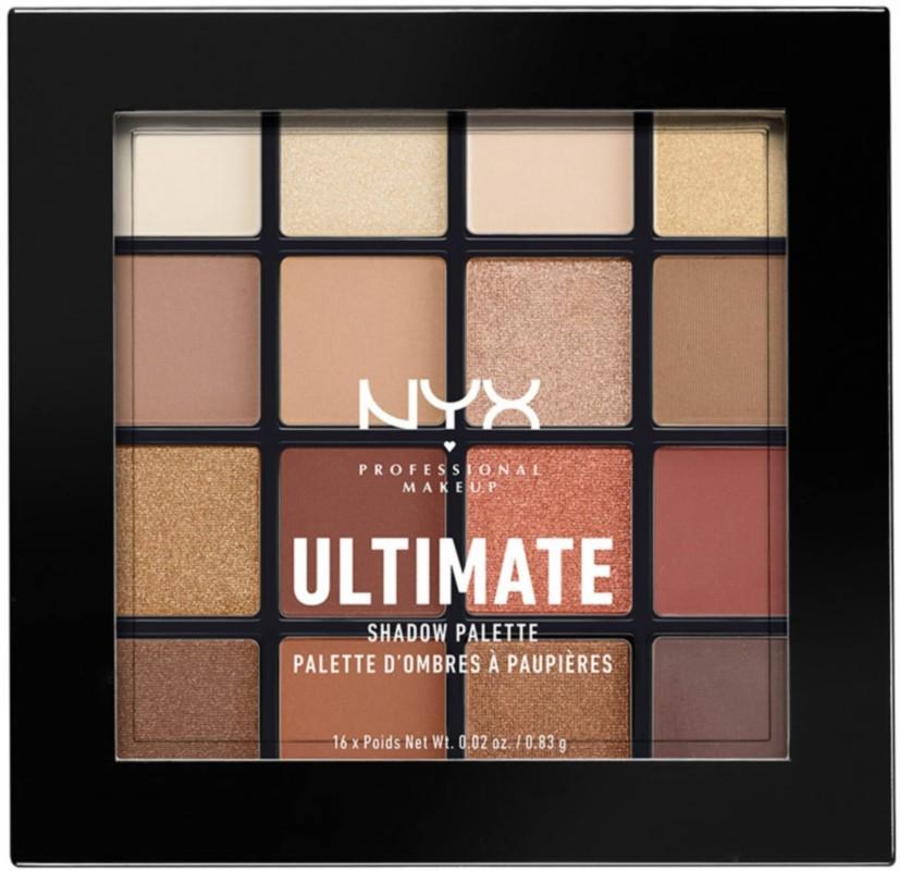 Нюдовая палетка Ultimate Shadow Palette Warm Neutrals 03 от NYX