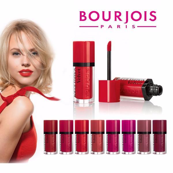 Обзор коллекци помад Rouge Edition Velvet от Bourjois