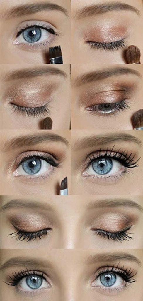Макияж для серых глаз в домашних условиях фото 231