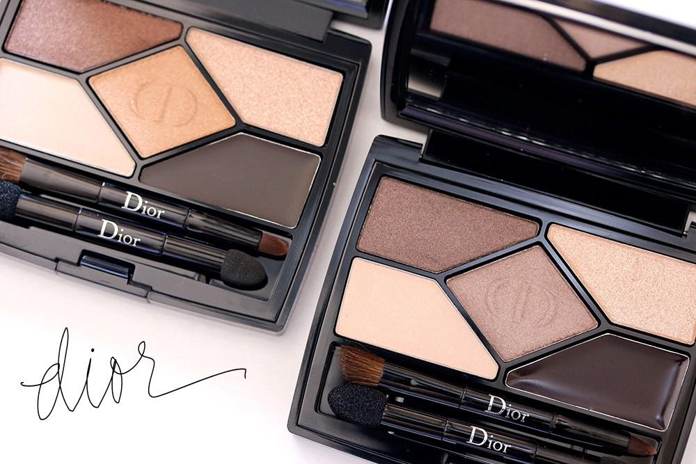 Палетки нюд Dior 5 Couleurs от Dior