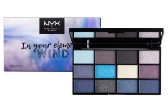 Обзор палетки теней In Your Element Shadow Palette Wind от NYX