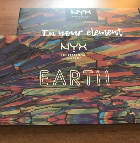 Обзор палетки теней In Your Element Shadow Palette Earth от NYX