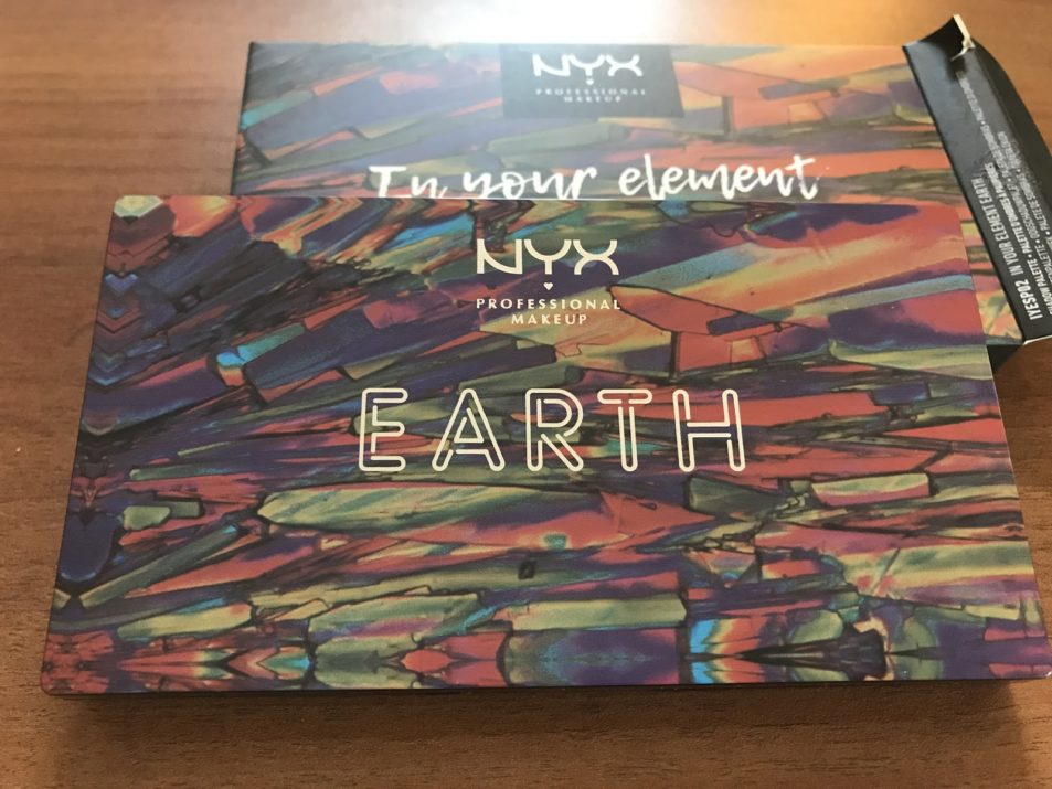Палетка теней In Your Element Shadow Palette Earth от NYX