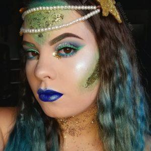 Волшебный макияж с палеткой In Your Element Shadow Palette Water от NYX