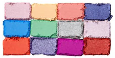 Оттенки палетки теней In Your Element Palette Air от NYX