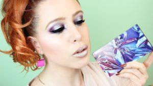 Нежный макияж с использованием палетки In Your Element Shadow Palette Metal от NYX