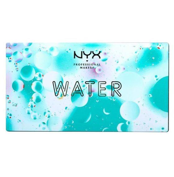 Обзор палетки теней In Your Element Shadow Palette Water от NYX