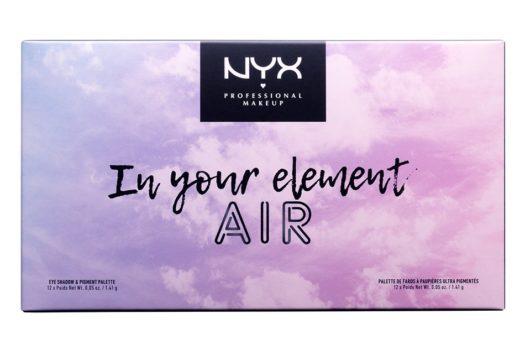 Обзор палетки теней In Your Element Shadow Palette Air от NYX