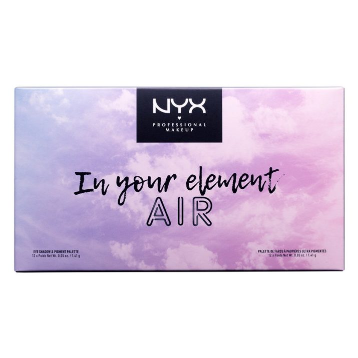 Палетка теней In Your Element Palette Air от NYX